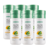 Aloe Vera Drinking Gel Traditional s medem - Série 6 x 1000 ml