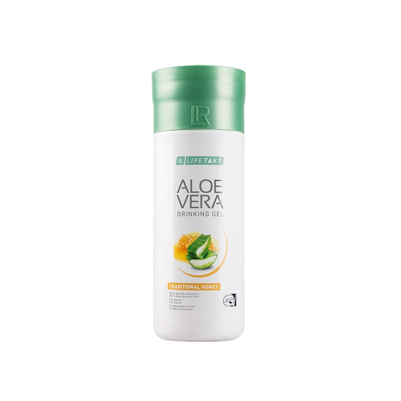 Aloe Vera Drinking Gel Traditional s medem 1000 ml