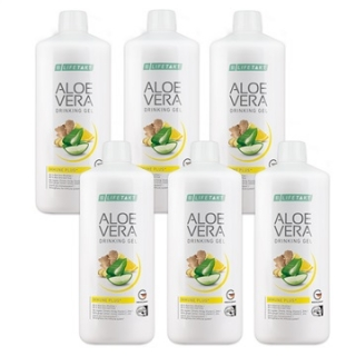 Aloe Vera Drinking Gel Immune Plus Série 6 x 1000 ml