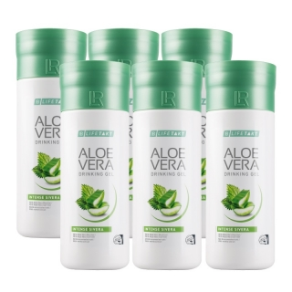 Aloe Vera Drinking Gel Intense Sivera - Série 6 x 1000 ml