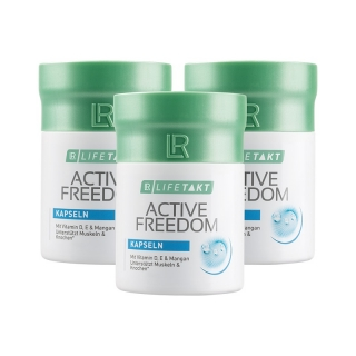 Active Freedom Plus Kapsle - Série 3 ks